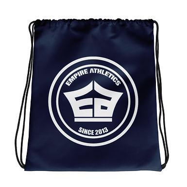 Navy EA Drawstring bag