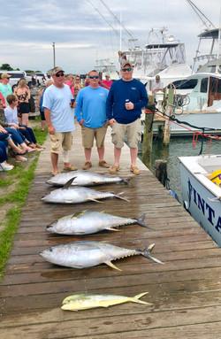 charter with tuna