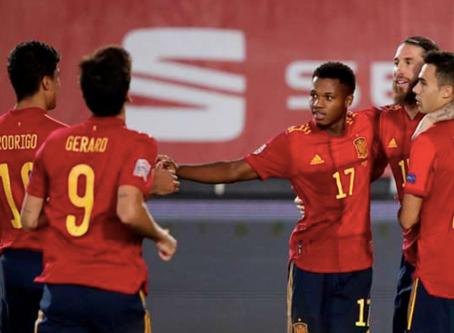في أول مشاركة له: إنسو فاتي يحقق رقمين تاريخيين مع إسبانيا