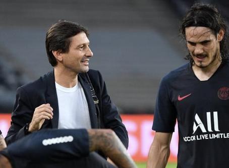 """ليوناردو يؤكد: """"كافاني"""" يغادر نادي باريس سان جرمان"""