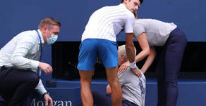 بعد أن فقد أعصابه: إستبعاد دجوكوفيتش من بطولة الولايات المتحدة المفتوحة للتنس