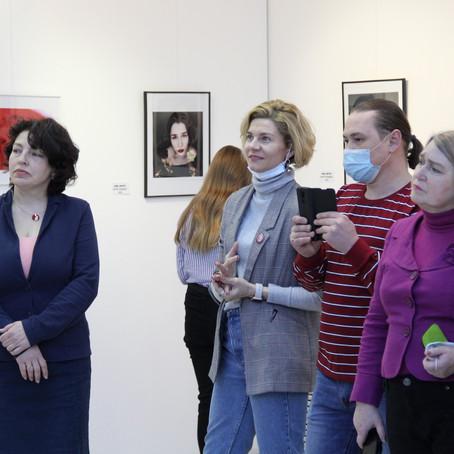 Открытие выставки фотохудожницы Полины Маценковой