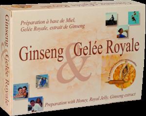 Ampoules de Ginseng et Gelée Royale