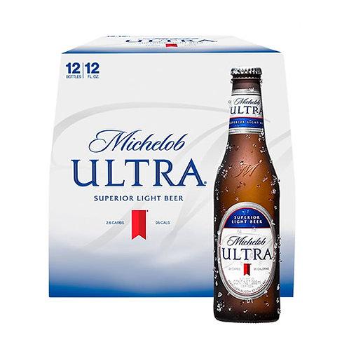 12 pack cerveza Michelob Ultra 355 ml.