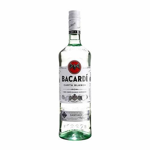 Ron bacardi carta blanca Superior 750 ml.