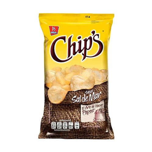 Botana Chip's Sal de Mar 170 gr.