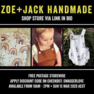 Zoe + Jack Handmade