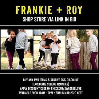 Frankie + Roy