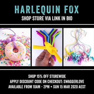 Harlequin Fox