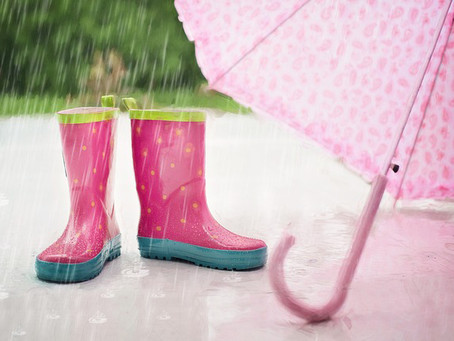 Auch wenn es regnet