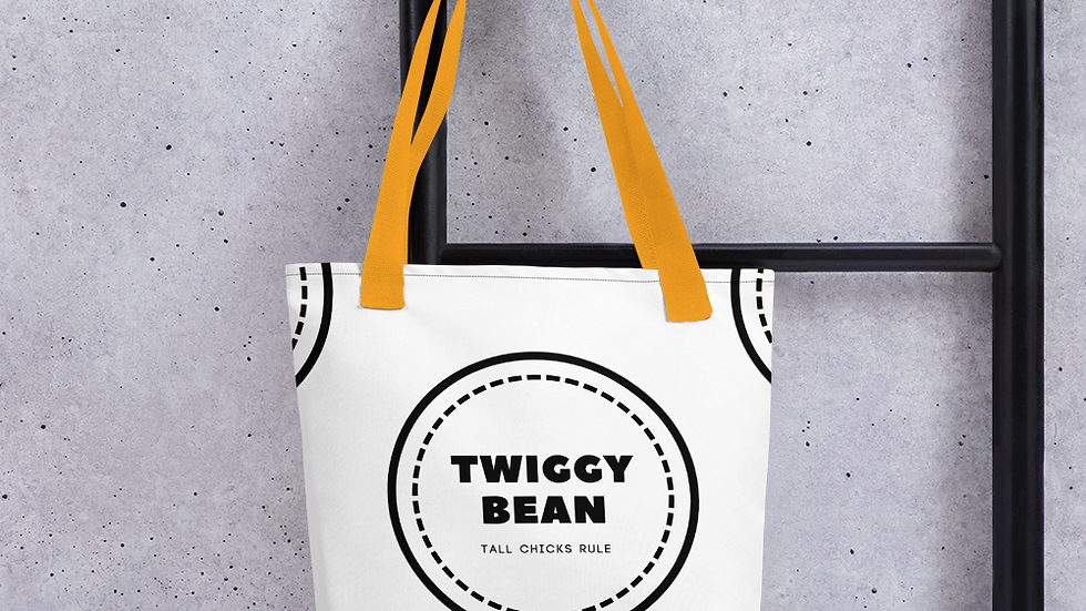 TWIGGY BEAN Signature all over Tote bag