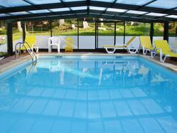 Casas Sapardos  piscina coberta 2