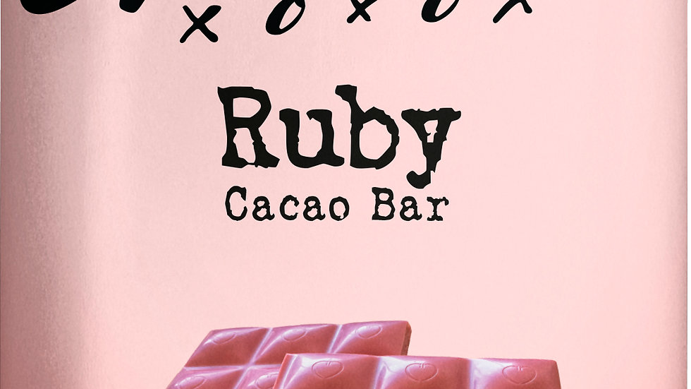 Ruby Cacao Chocolate Bar