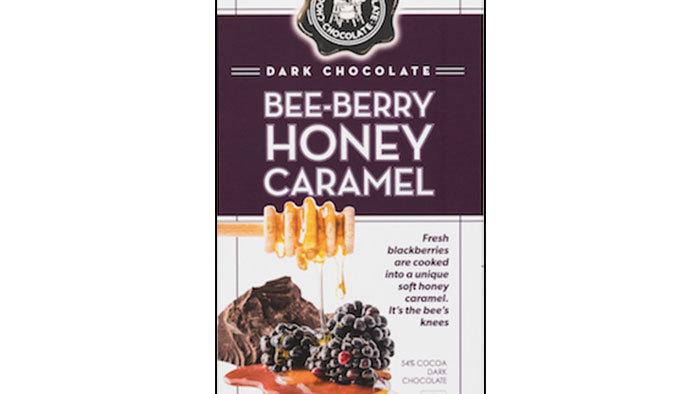 Bee Berry Honey Caramel Bar