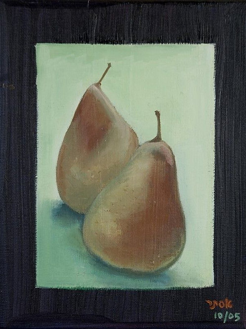 Fruit Painting - Pears