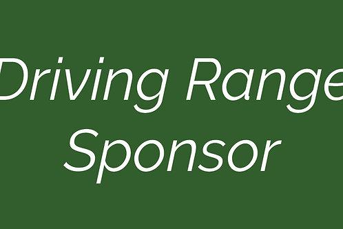 Driving Range Sponsor