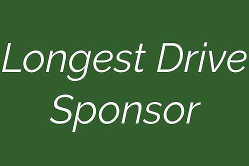 Longest Drive Sponsor