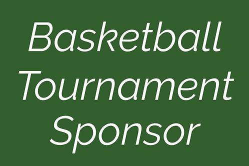 Basketball Tournament Sponsor
