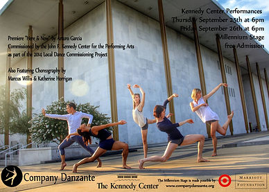 DANZANTE @The Kennedy Center - Local Dance Commissioning Project 2014