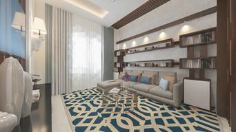 Lounge with Library