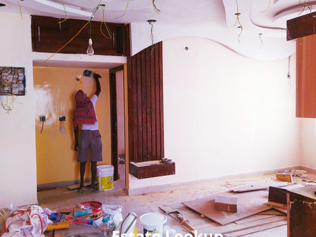 Home Painting tips by Interior Designer in Kolkata | Estate Lookup Interiors