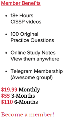 Organized Sunflower CISSP Notes | Study Notes and Theory - A CISSP ...