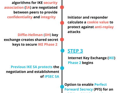 Quick CISSP Infographic for IPSec