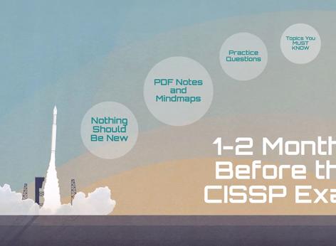 1-2 Months Before the CISSP Exam