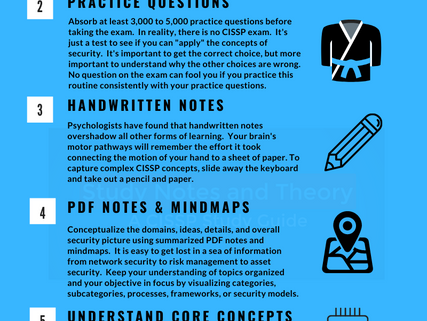 Quick CISSP Infographic for Exam Preparation