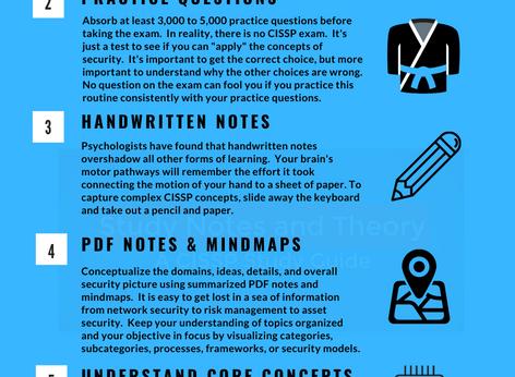 Quick CISSP Infographic for Exam Preparation