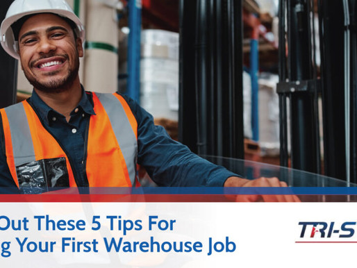 Check Out These 5 Tips For Working Your First Warehouse Job