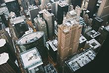Ideia aérea de New York