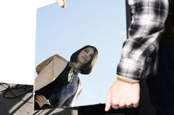 Sur le tournage de Shiseido