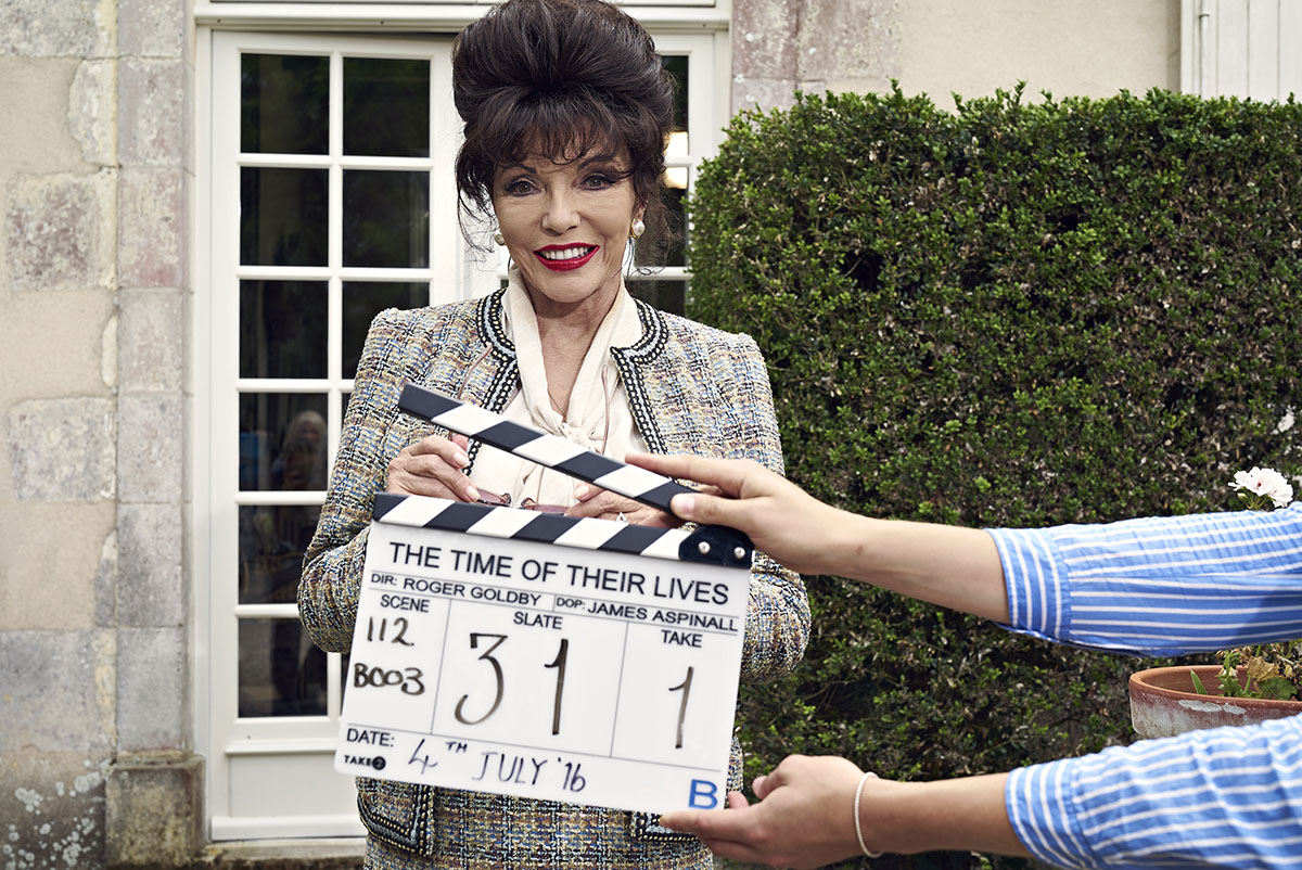 Joan Collins sur