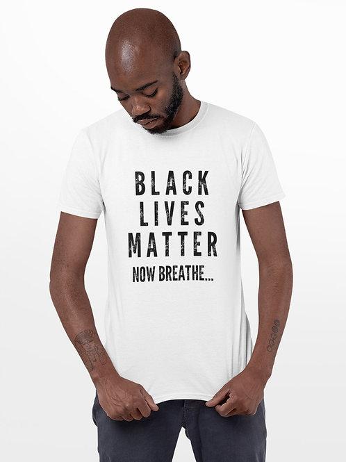 Black Lives Matter White Tee