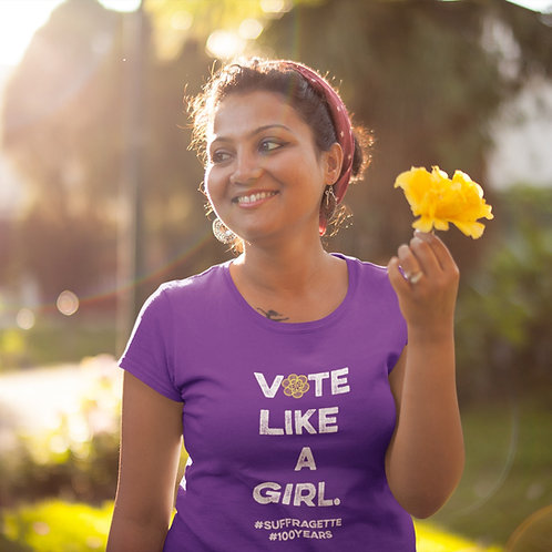 Vote Like A Girl