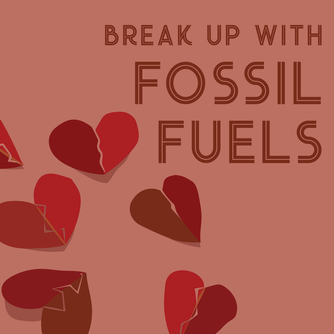 Breakup with fossil fuels