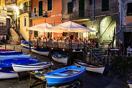 Riomaggiore in Cinque Terre at Night, It