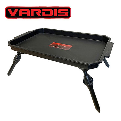 VARDIS PLASTIC BIVVY BAIT TABLE WITH ADJUSTABLE ALLOY LEGS