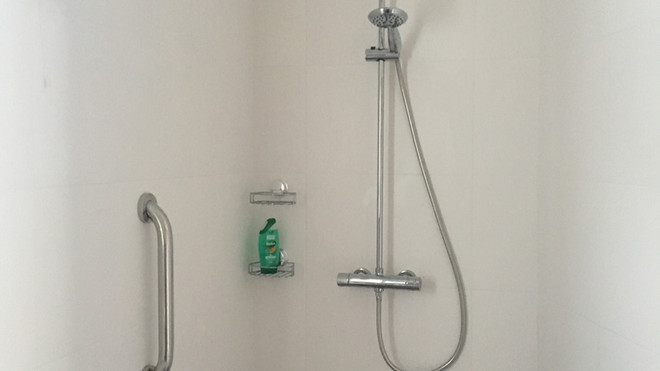 Rubery finished shower room