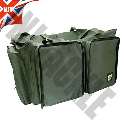 KC Green carryall - constructed from 600D PVC carp fishing tackle bag
