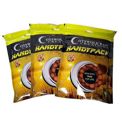 NEW Carp Fishing Cotswold Baits Tigernut Boiles + Free Pop Ups. 3 Bag Deal !!!!