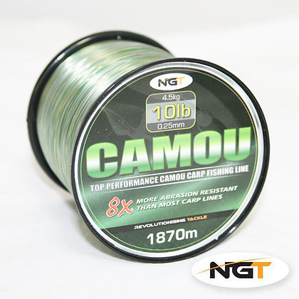 NGT Spool of Camo Line 10lb
