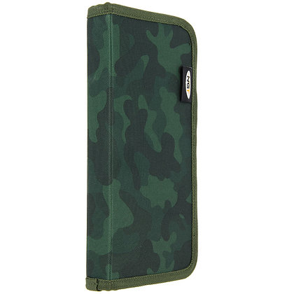 Stiff Rig Wallet With Pins in Camo (940-C)