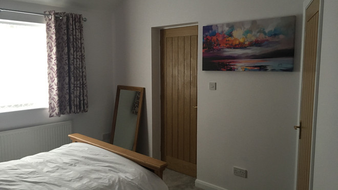 Rubery finished bedroom