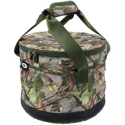 Bait Bin With Handles & Zip Cover (325) Camo