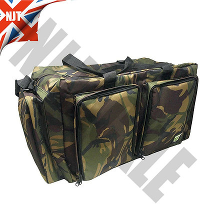 DPM Camo carryall - constructed from 600D PVC carp fishing tackle bag