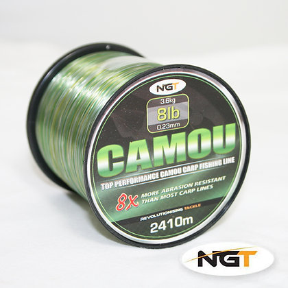 NGT Spool of Camo Line 18lb
