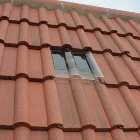 Concrete Double Roman Tile