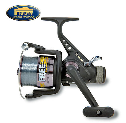 Lineaeffe 2 + 1BB 'Free Carp' Runner Reel With Lin